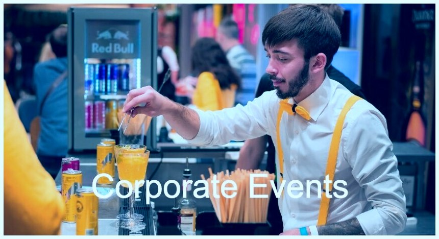 trade shows bartenders